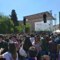 Palermo, a piazza Magione settemila studenti da tutta Italia per Falcone