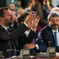 Salvini incontra la prof sospesa: