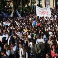 Palermo, il minuto di silenzio all'Albero Falcone conclude la giornata di celebrazioni