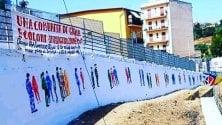 """""""People United"""", il murale contro i pregiudizi"""