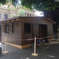 Palermo, si trasferisce nella casetta il chiosco Vicari a piazza Verdi