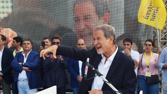 """Musumeci si lancia a leader del centrodestra al Sud: """"Porterò gli astenuti del Mezzogiorno  al voto e vinceremo con la Lega"""""""