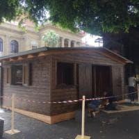 Palermo, l'assessore boccia il chiosco in piazza Verdi: