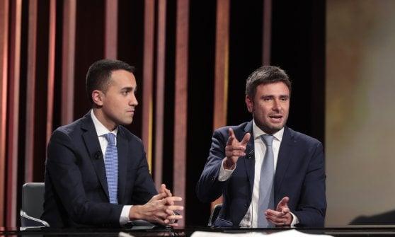 """Di Battista: """"Non so se il governo durerà. Salvini vuol mandare tutto all'aria, si berlusconizza sempre di più"""""""
