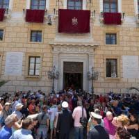 Palermo: Festino, la messa a Palazzo delle Aquile e l'omaggio dei vigili del fuoco alla Santuzza