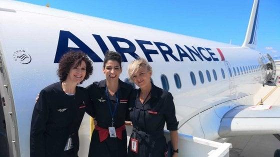 Dopo 25 anni Air France torna a Palermo, quattro voli settimanali per Parigi