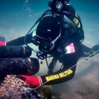 Sicilia, i sub della Marina militare bonificano i fondali da residuati bellici