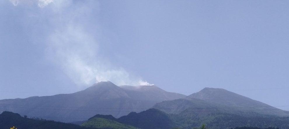 Etna, le immagini del risveglio del vulcano