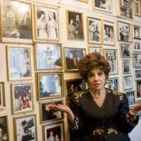 Gina Lollobrigida a Taormina: