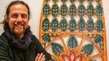 L'installazione    di Pellegrino  alla Biennale