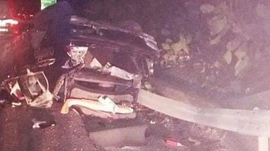 Si schiantò con l'auto dopo la diretta Fb  guidava sotto l'effetto di stupefacenti