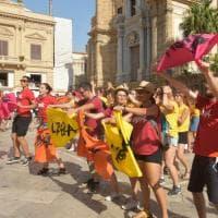 Palermo, i giovani di Libera invadono la città