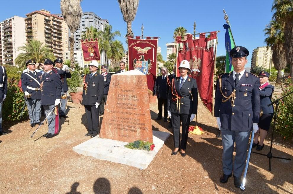 Palermo ricorda il sacrificio di Ninnì Cassarà e Roberto Antiochia e del procuratore Costa