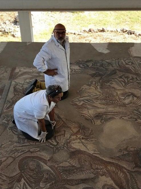 Noto, al via il restauro dei mosaici di villa del Tellaro