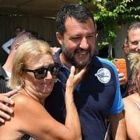 Salvini a Taormina dice no all'alleanza con Forza Italia: