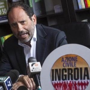 """Palermo, Ingroia contro Renzi: """"Il nome Azione Civile e il simbolo sono miei"""""""