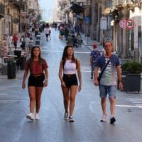 Palermo, il primo giorno di via Maqueda tutta pedonale