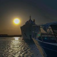 Nel mare di Siracusa il panfilo dello sceicco del Qatar