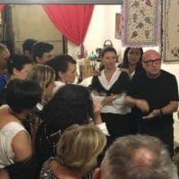 Polizzi Generosa in festa per l'arrivo di Domenico Dolce