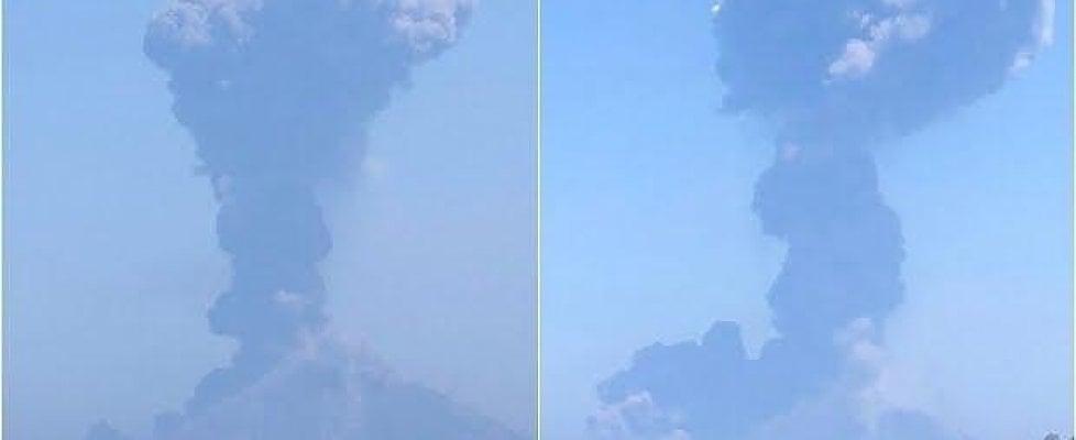 Nuova forte esplosione dello Stromboli, cenere sulle case