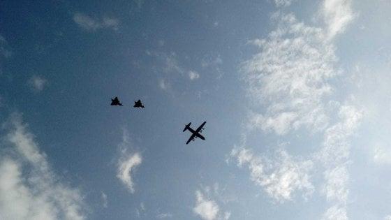 Palermo, aerei militari sulla città: è un servizio fotografico  dell'Aeronautica - la Repubblica