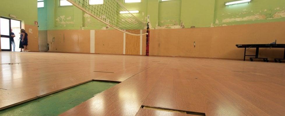 Palermo, se la palestra cade a pezzi la ginnastica si fa da fermi