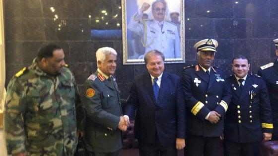 Sicilia, accordo con i libici per i  primi pescherecci italiani