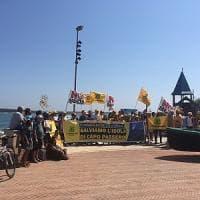 Portopalo, la protesta di Legambiente: