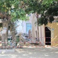 Agrigento, crollo nella notte in pieno centro: danni ma nessun ferito