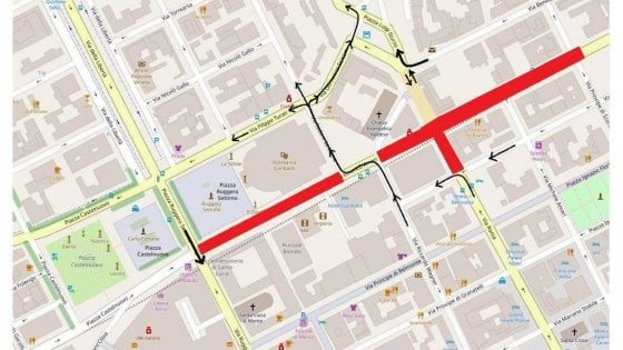 Palermo, arrivano le trivelle: Politeama off-limits dal 1° ottobre