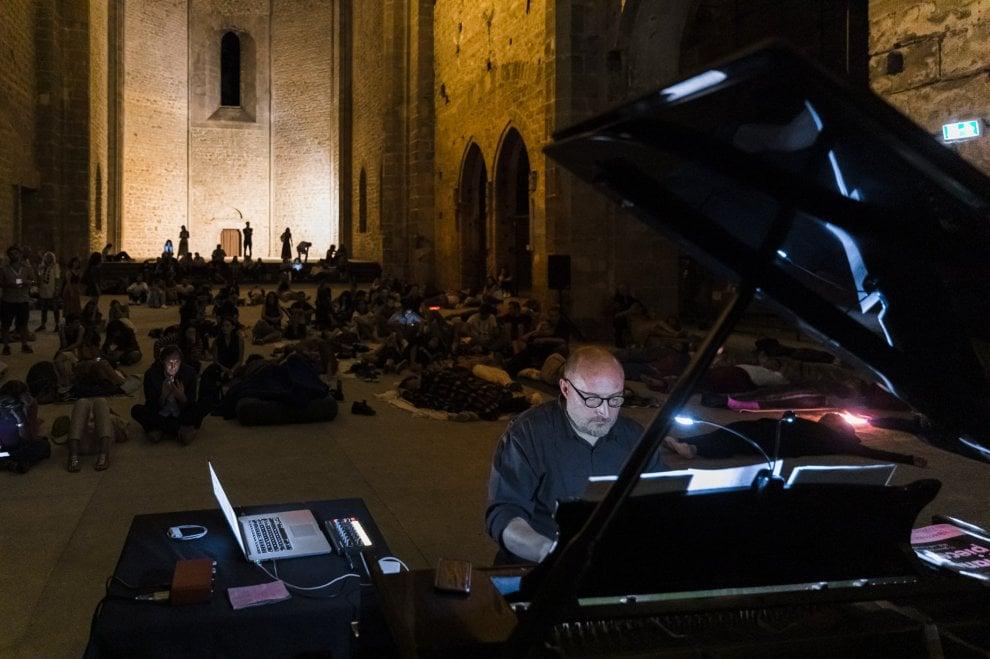 """Palermo, la lunga notte di """"Piano city"""" allo Spasimo col pubblico che dorme"""