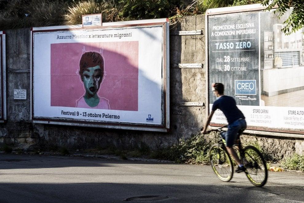 Palermo, arte urbana per Letterature migranti