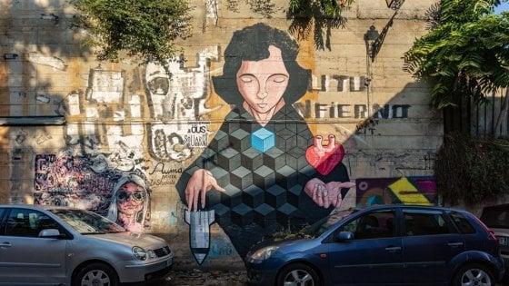 Palermo, studenti-artisti al Cep: poster e murales ridisegnano il quartiere