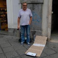 Catania, diventerà un film la storia del clochard poeta