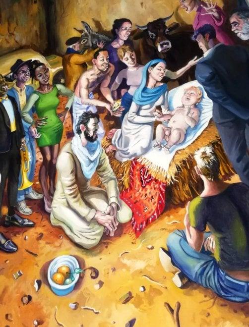 Palermo, otto artisti rileggono il Caravaggio rubato