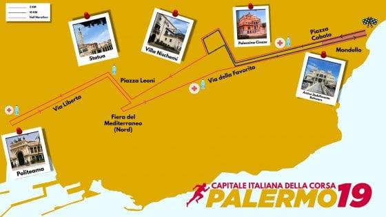 Palermo, c'è la maratona: traffico rivoluzionato da Mondello al centro