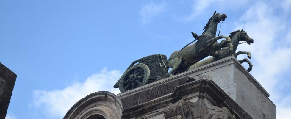 La leggenda della biga di Catania: è una copia del manufatto di Morgantina