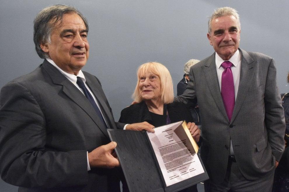Palermo, il premio di Dusseldorf a Letizia Battaglia