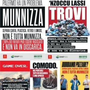 """""""Palermo ha un problema: munnizza"""". Parte la campagna informativa della Rap"""
