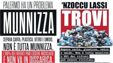 """""""Palermo ha un problema: munnizza""""  Parte la campagna informativa della Rap"""