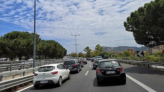 Palermo, salta un giunto del viadotto: interrotta a Termini l'autostrada A19