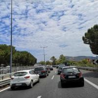 Palermo, salta un giunto del viadotto: interrotta a Termini l'autostrada