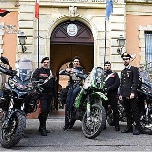 Catania, ritrovata la moto rubata al messicano che sta facendo il giro del mondo