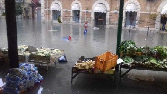 Maltempo in Sicilia, l'alluvione mette in ginocchio Licata