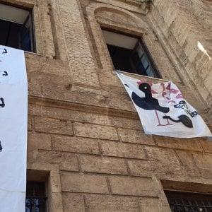 Palermo, caos all'Accademia di Belle Arti. Protestano gli studenti