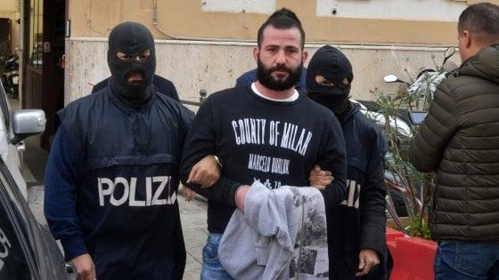 Palermo, catturato latitante del clan di Brancaccio: tradito dalla spesa consegnata a domicilio