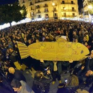 Le sardine invadono la Sicilia: dopo Palermo in piazza anche a Catania e Messina