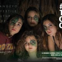 Palermo, i manifesti per l'ambiente delle studentesse