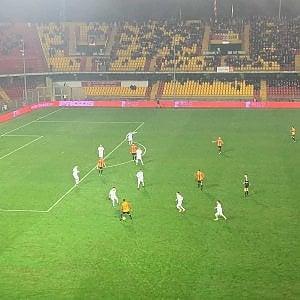 Trapani, naufragio a Benevento: i granata perdono 5 a 0