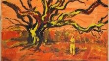 Due anni senza il pittore  Aldo Pecoraino    poeta degli alberi